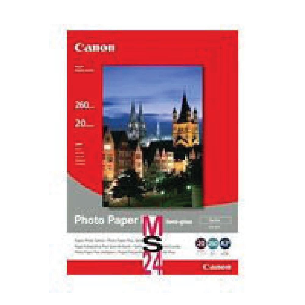 Canon White Semi-Gloss Photo Paper 260gsm, 100x150mm - 50 Sheets - 1686B015