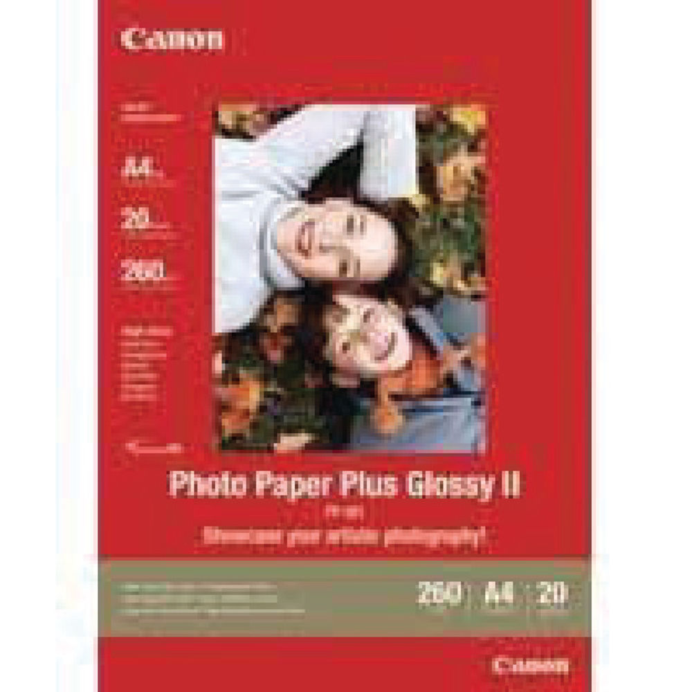 Canon PP-201 White Glossy Photo Paper 260gsm - 130x180mm  - 20 Sheets - 2311B018