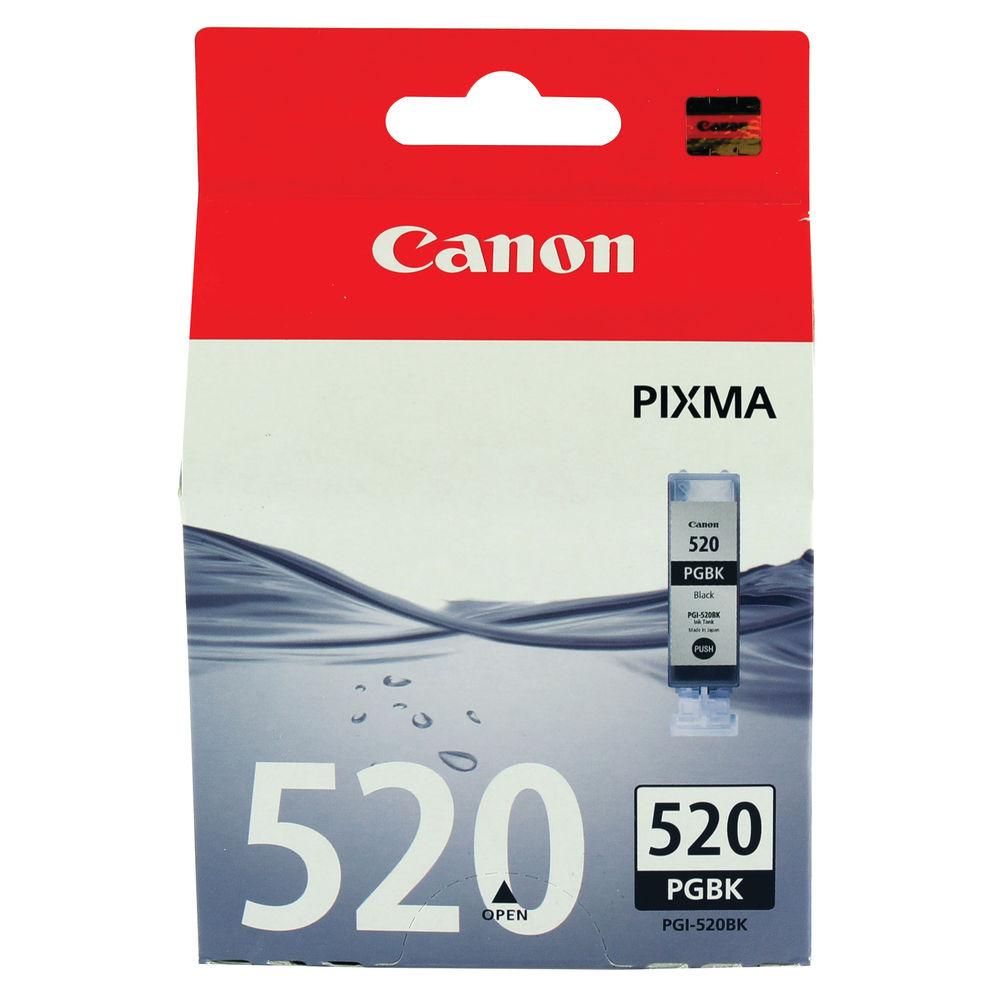 Canon PGI-520 Black Photo Ink Cartridge - 2932B001