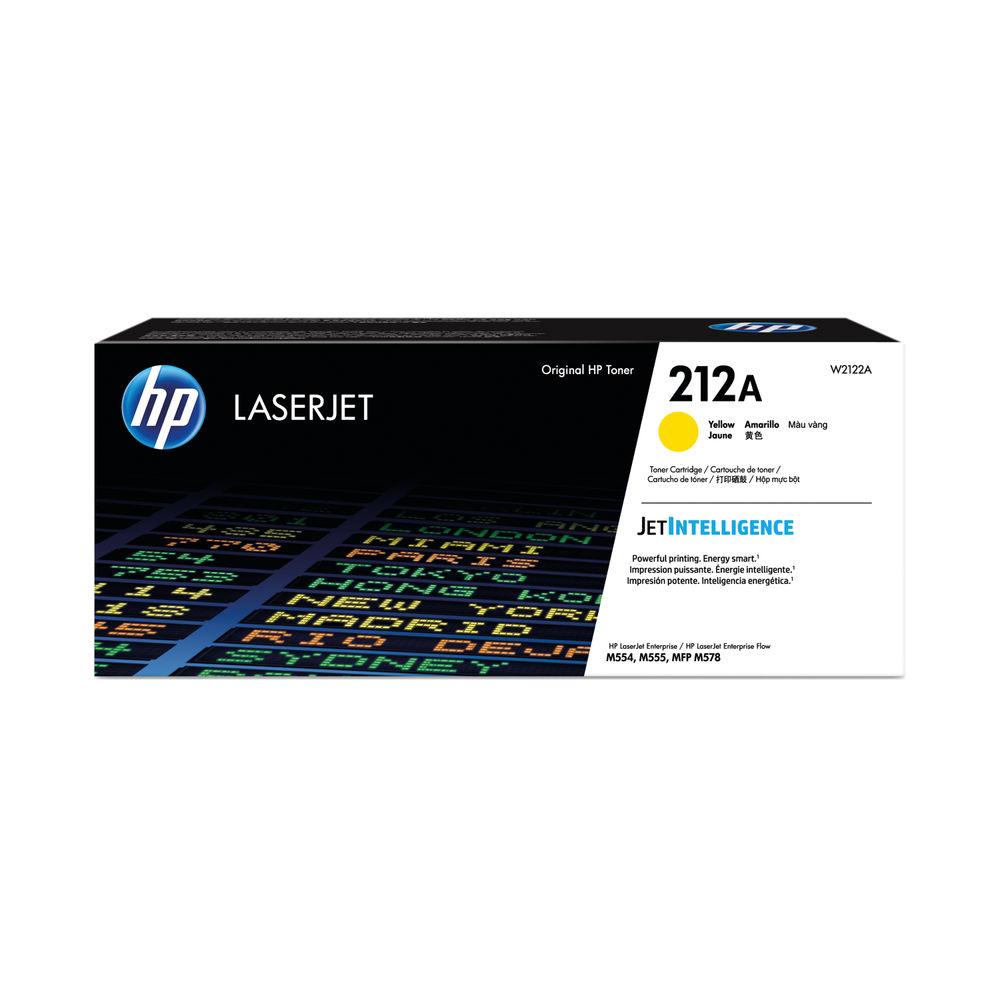 HP 212A Yellow Laserjet Toner Cartridge W2122A