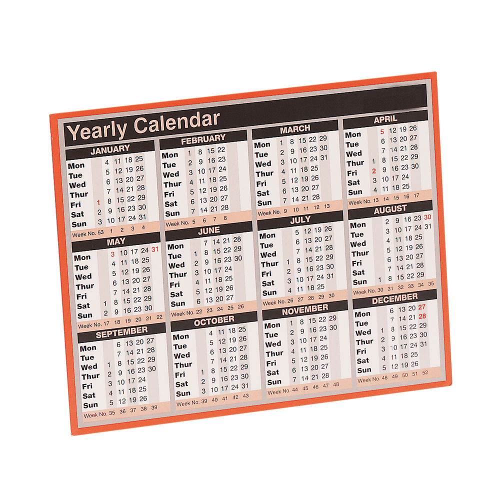 Year To View Calendar 2022 KFYC122