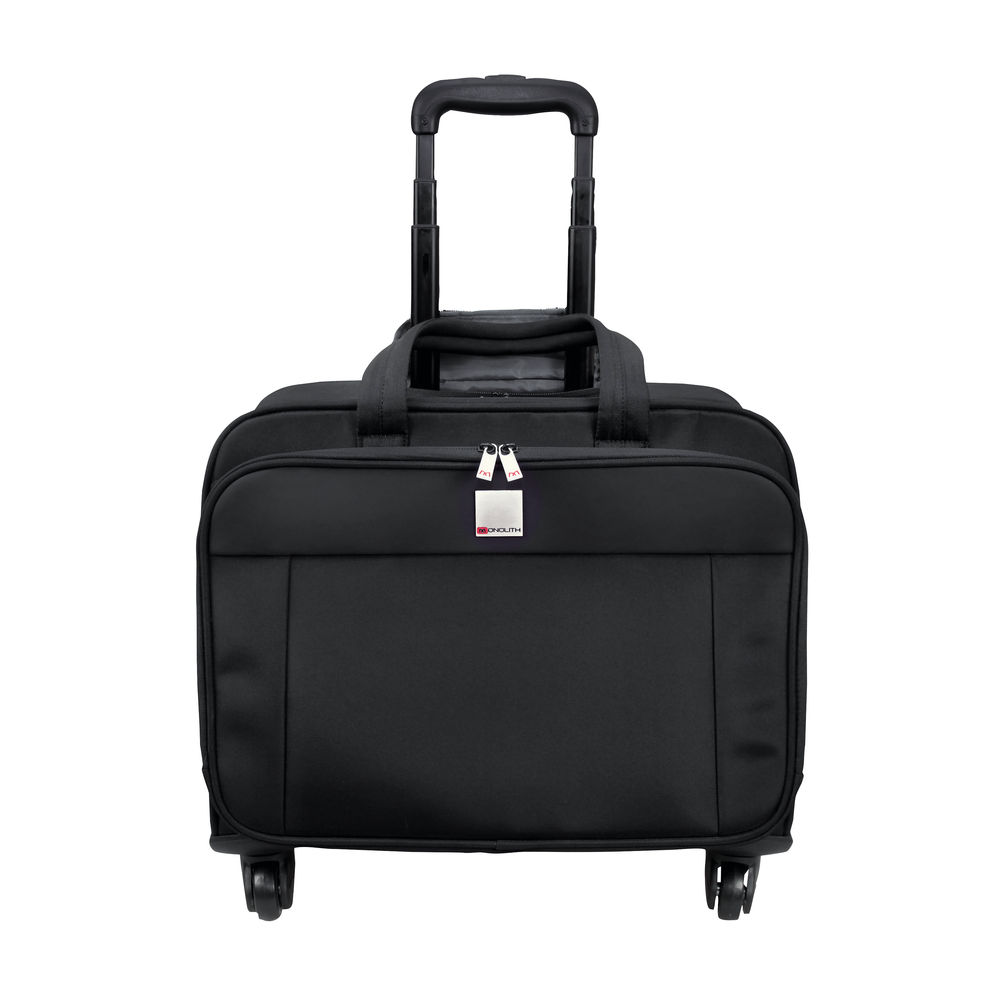 Monolith Black Motion II 4 Wheel Laptop Trolley Case – 3208