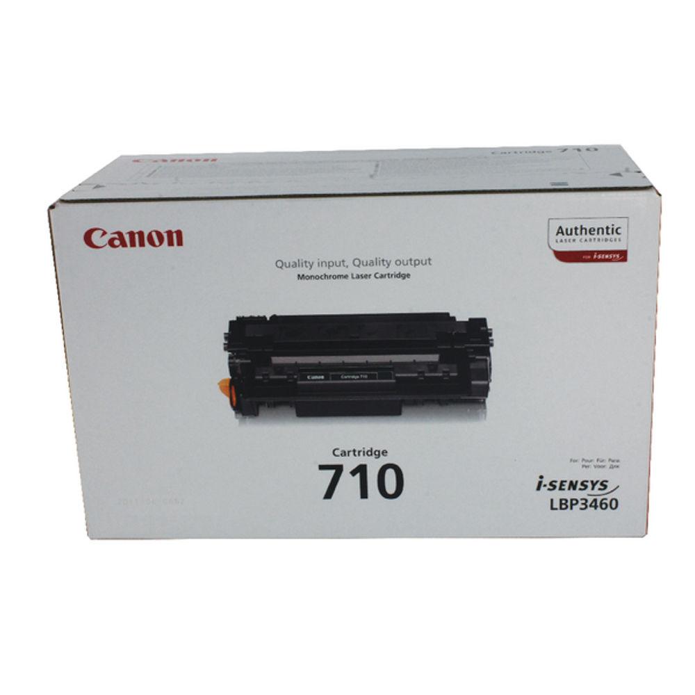 Canon 710 Black Toner Cartridge - C0985B001AA