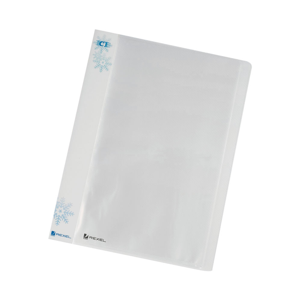 Rexel Ice A4 Clear Display Books, Pack of 10 - 2102041