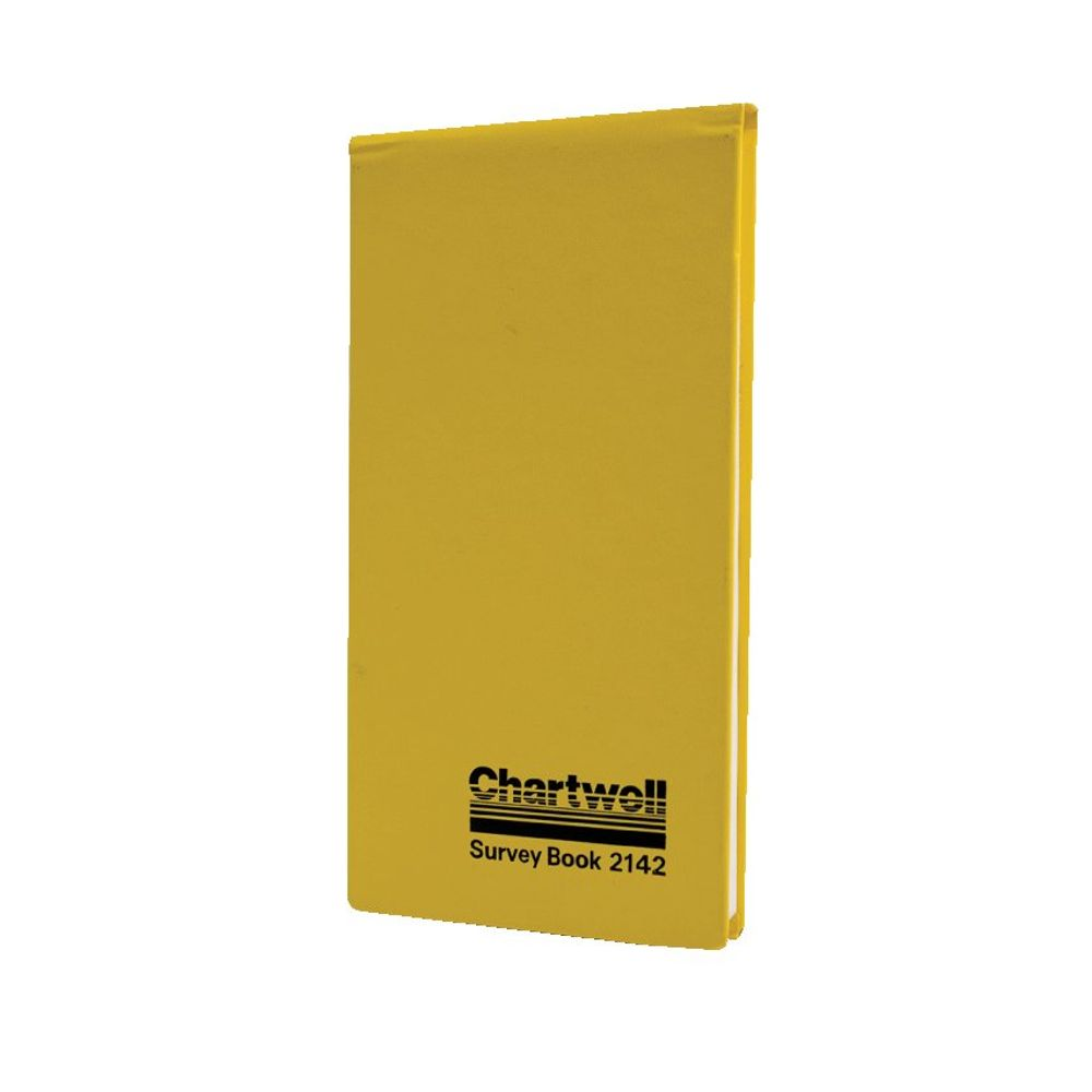 Chartwell Yellow Survey Dimension Book, 106 x 205mm, 160 Pages - 2142