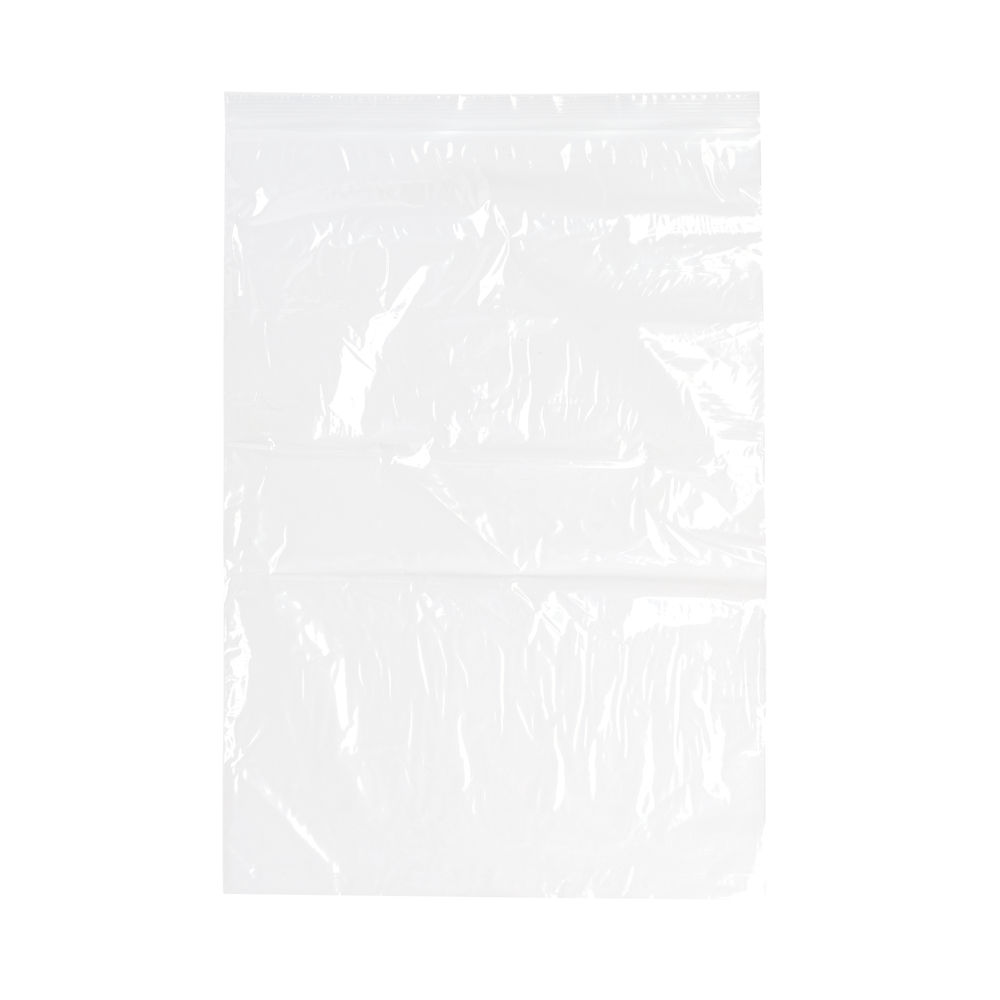 Re-Sealable Clear GL14 Minigrip Bag, 255 x 355mm - Pack of 1000