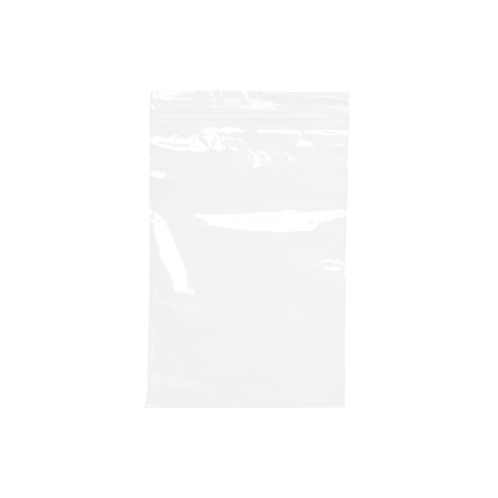 Re-Sealable Clear Minigrip Bag, 125 x 190mm (Pack of 1000) - GL-09