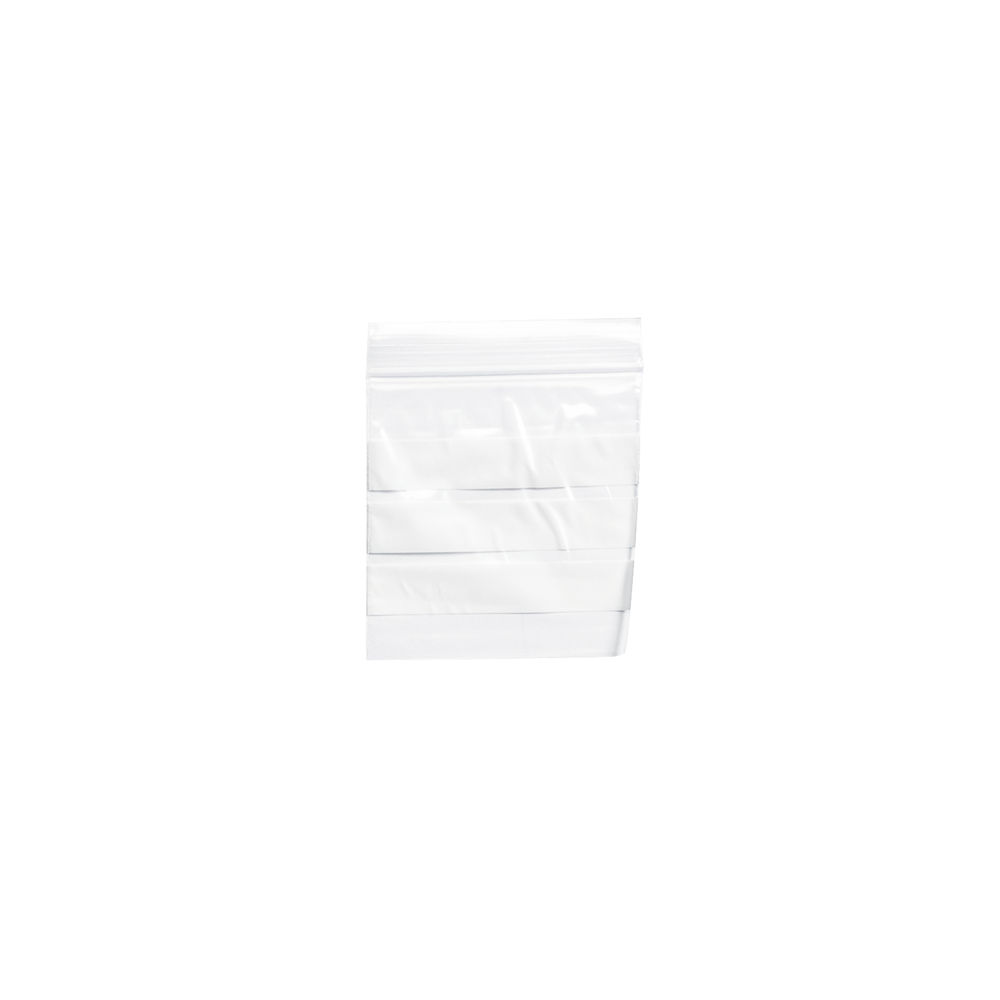Write-on Re-sealable Clear Minigrip Bag, 55x55mm - Pack of 1000 - GP01281