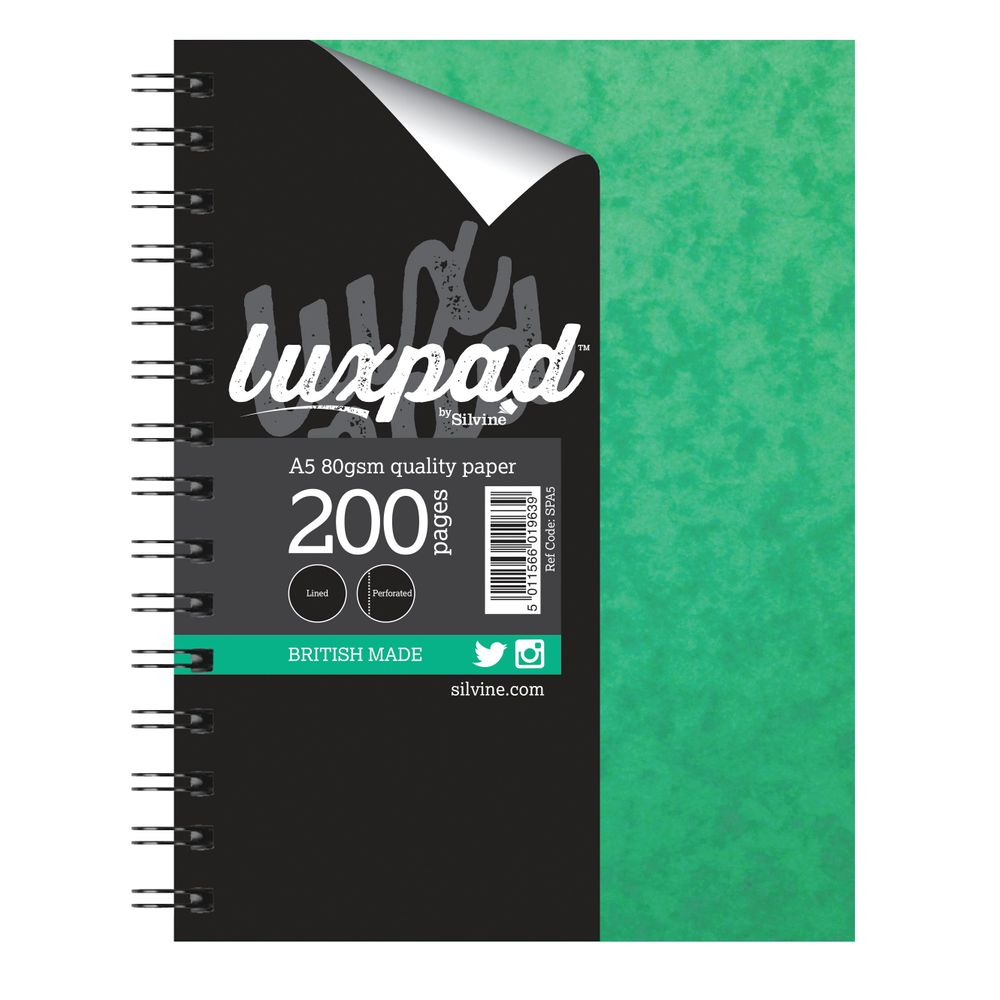 Silvine Wirebound A5 Feint Ruled Notebooks - Pack of 6 - SPA5