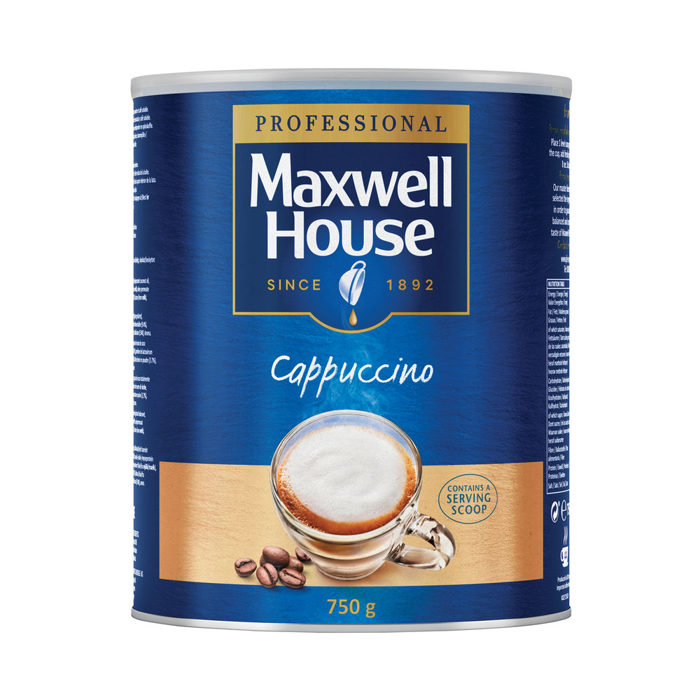 Maxwell House 750g Instant Cappuccino Powder - 4032036