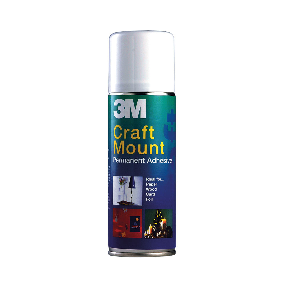 3M 400ml Craft Mount Adhesive Aerosol - ARTHOBBY