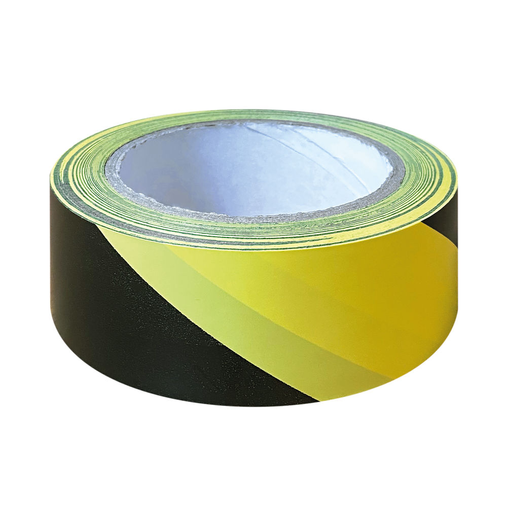 Black and Yellow Hazard Tapes (Pack of 6) - HZT3348