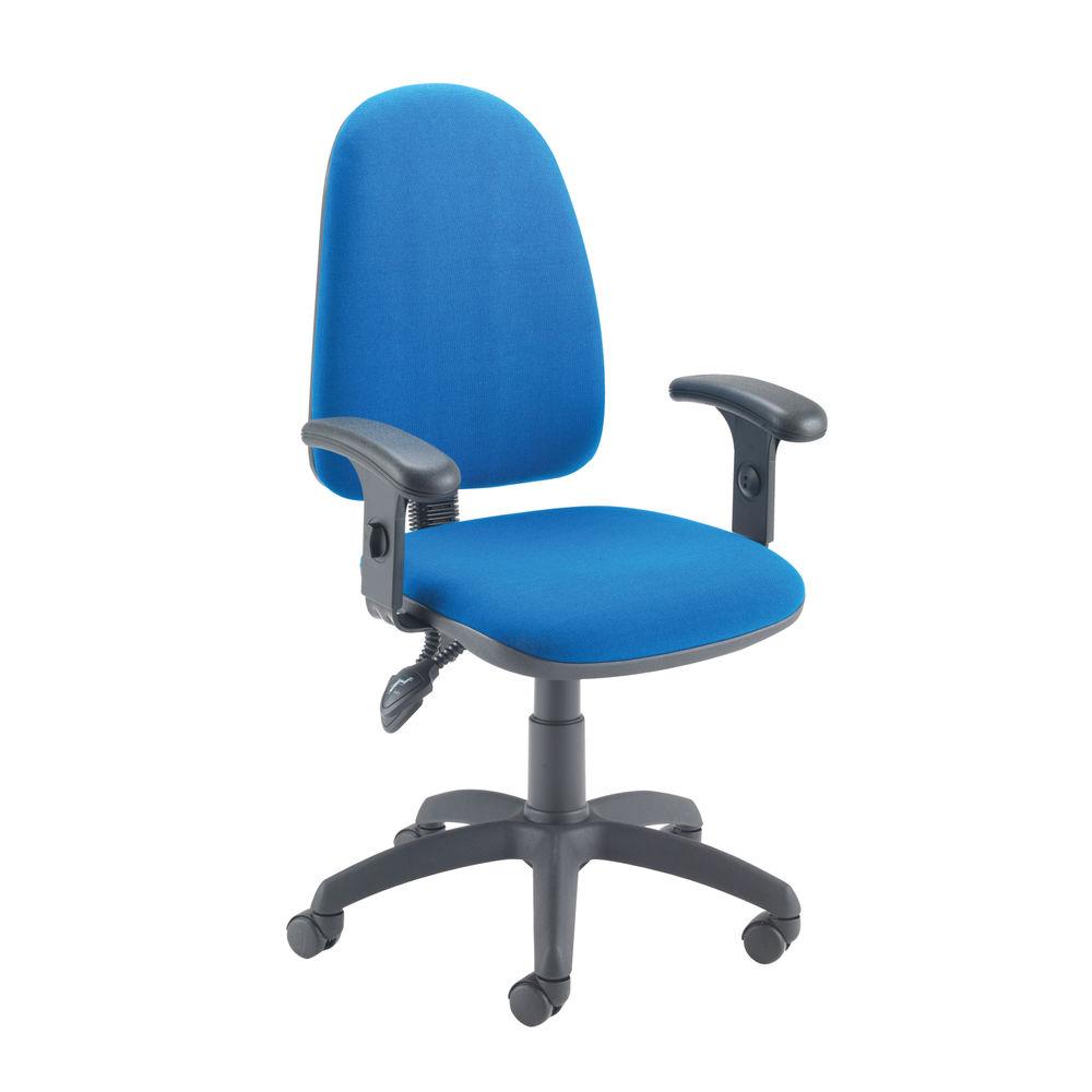 Jemini Sheaf Blue High Tilt Operators Office Chair