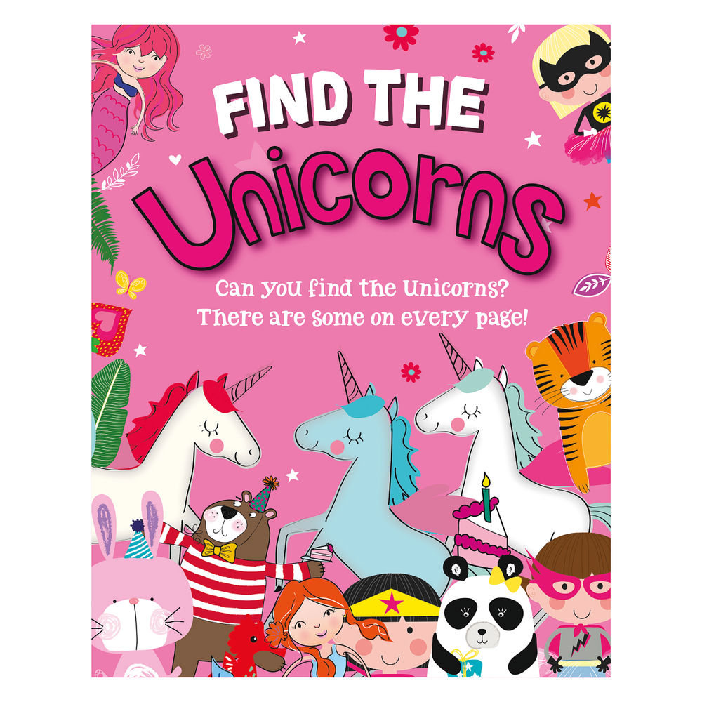 Find the Unicorns Activity Book (Pack of 12) 27075-UNIC