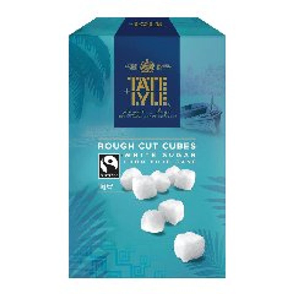 Tate & Lyle 1kg Rough Cut White Sugar Cubes - A03902