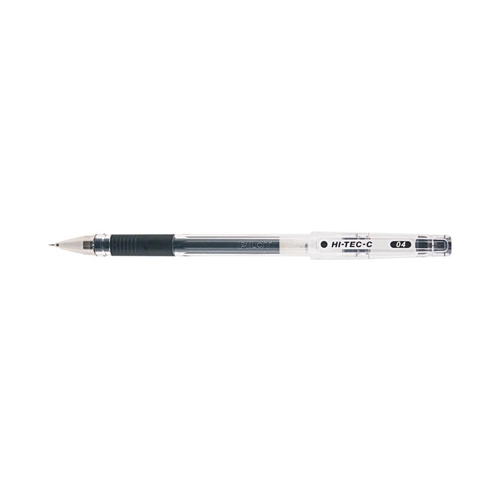 Pilot Hi-Tec Begreen Rollerball Pen C-Grip Microtip Black (Pack of 10) 4902505325328