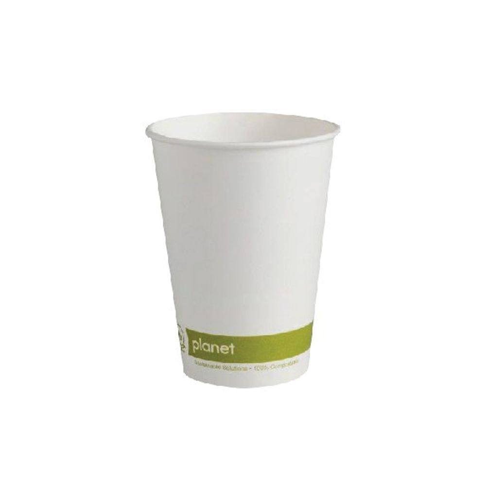 Planet 12oz Single Wall Cups (Pack of 50) HHPLASW12