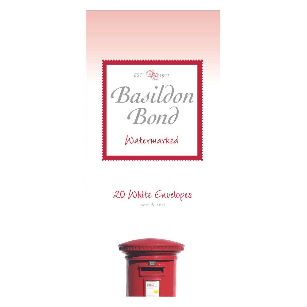 Basildon Bond Post Quarto White Envelope (10 Packs x 20) - 100080068