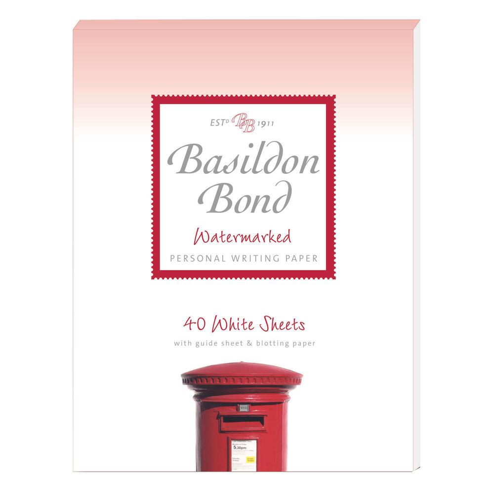 Basildon Bond Writing Pad 137 x 178mm White (Pack of 10) 100105351