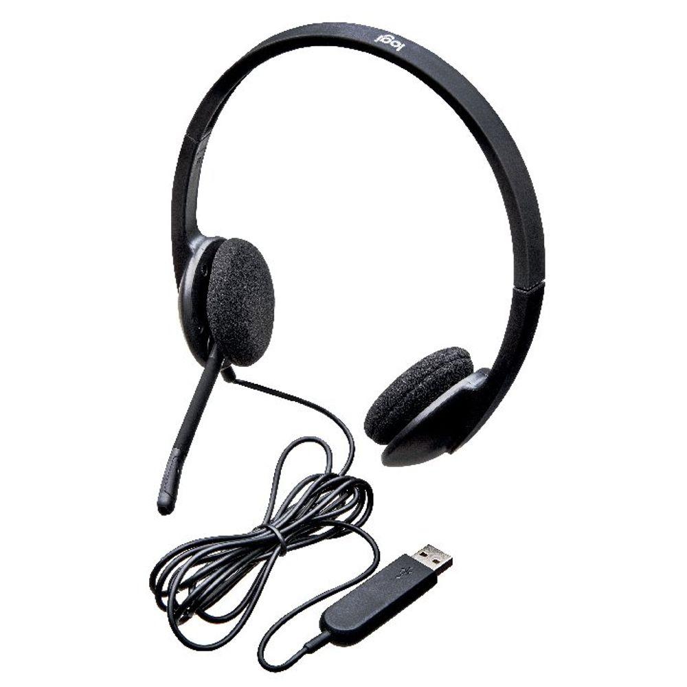 Logitech H340 USB Headset - 981-000475
