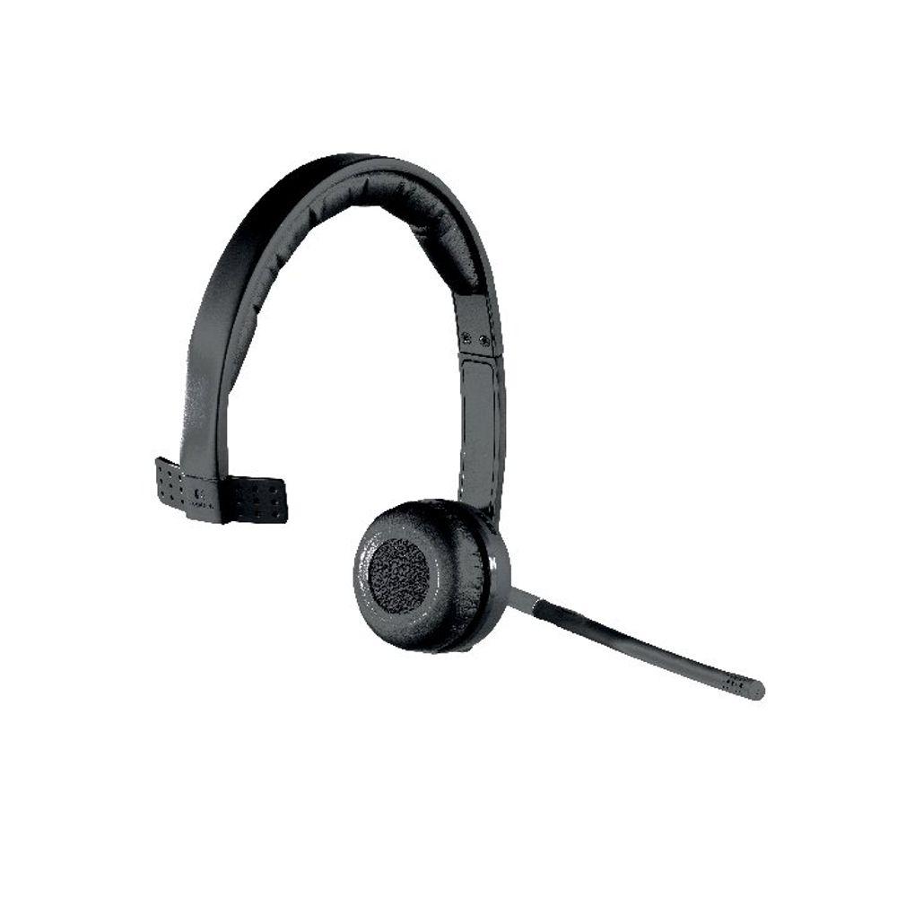 Logitech H820E Wireless Mono Headset - 981-000512