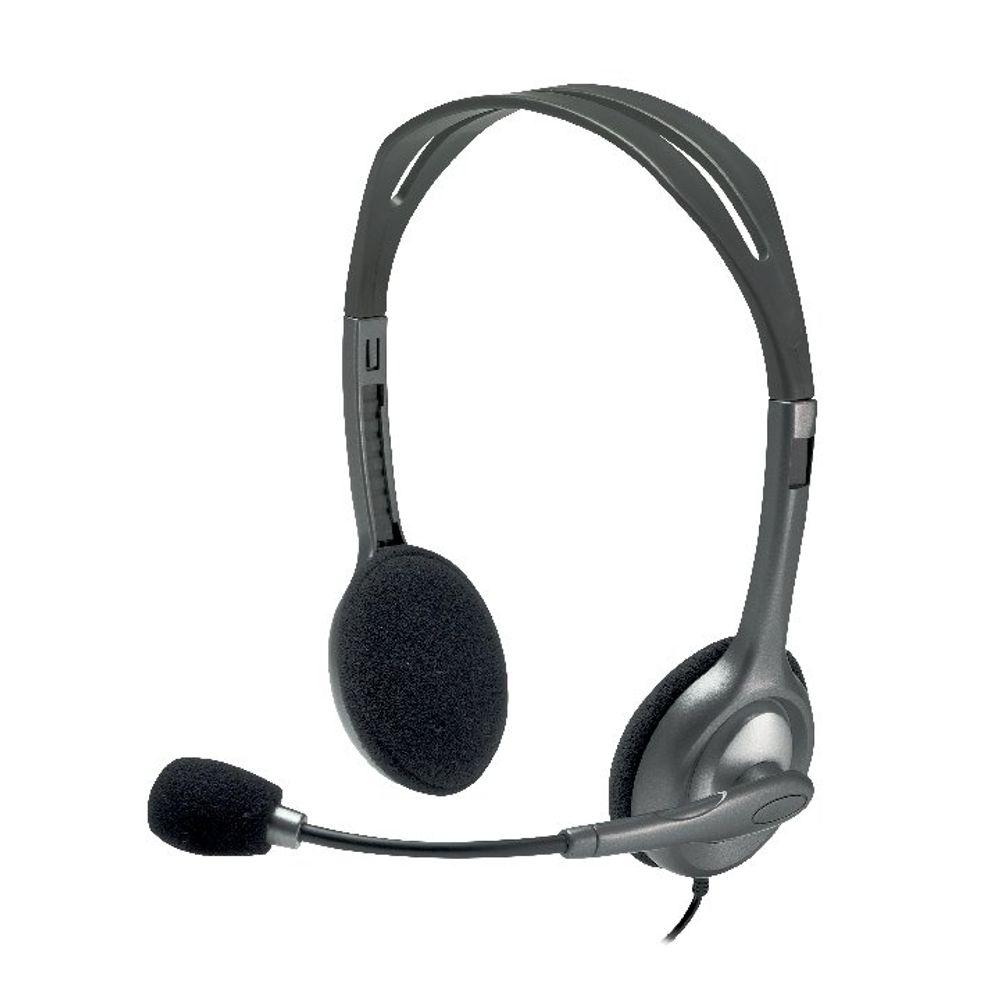 Logitech Black H110 Headset – 981-000271