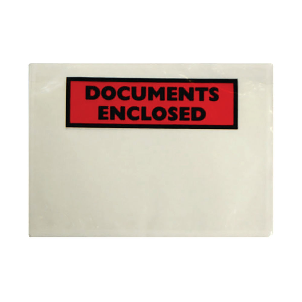 Go Secure A5 Document Enclosed Envelopes, Pack of 1000 - 7564