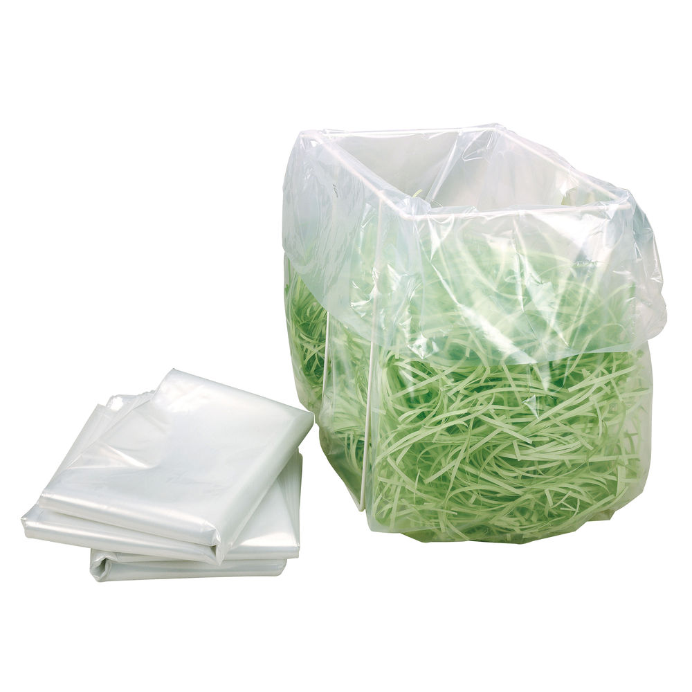 HSM Shredder Bags For Securio B34, Pack of 100 - 1410995000
