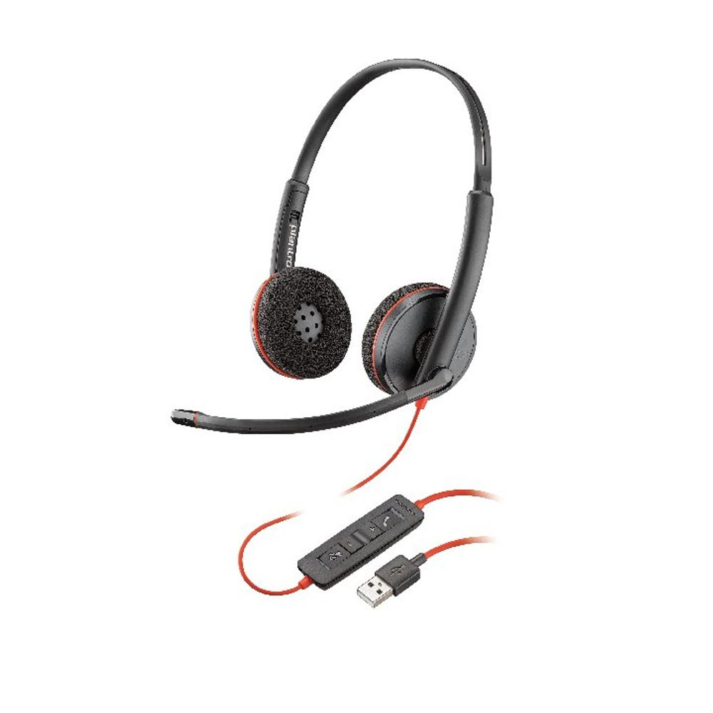 Plantronics Blackwire Binaural C3220 usb-a 209745-201