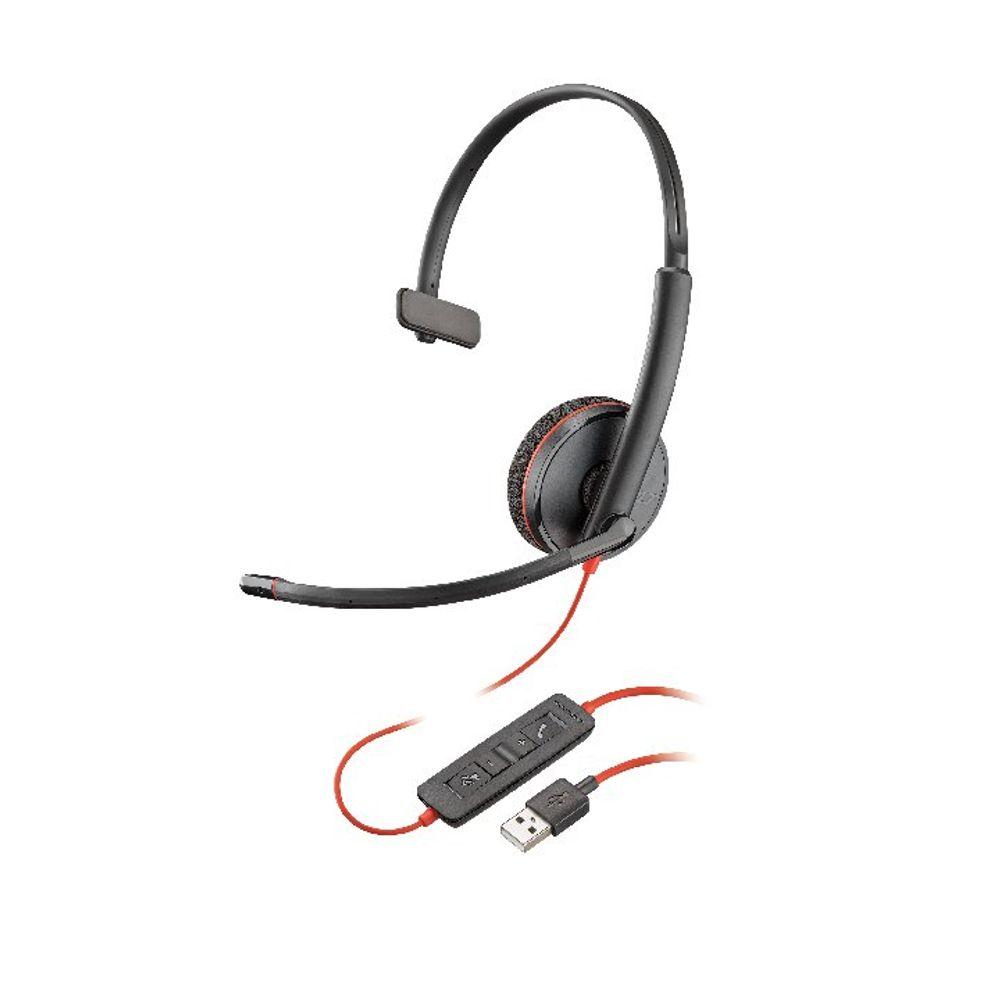 Plantronics Blackwire Monaural C3210 USB-A 209744-101