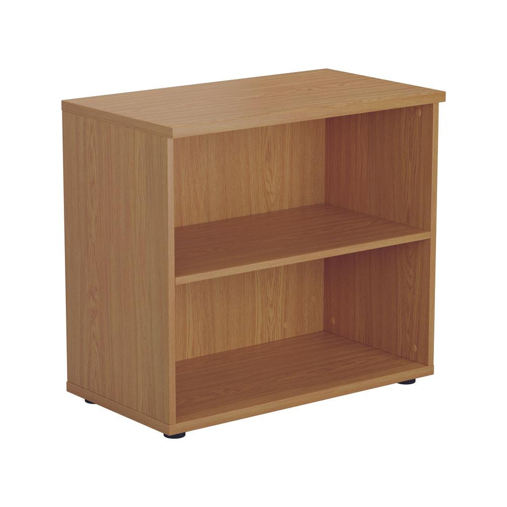 First 700mm Nova Oak Wooden Bookcase