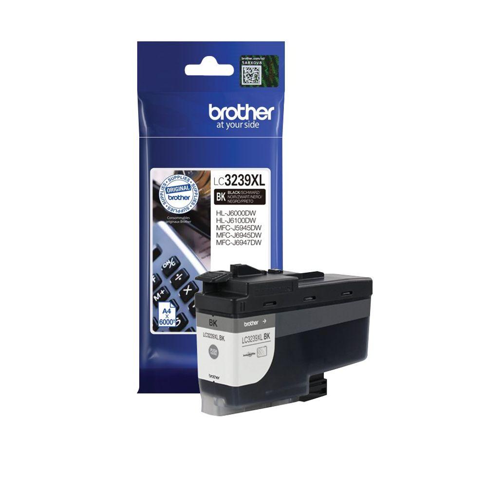 Brother LC-3239 Black High Yield Ink Cartridge - LC3239XLBK