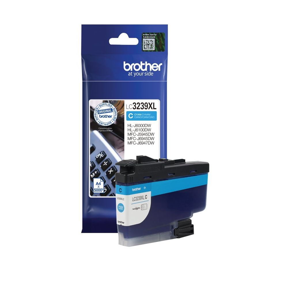 Brother LC-3239 Cyan High Yield Ink Cartridge - LC3239XLC
