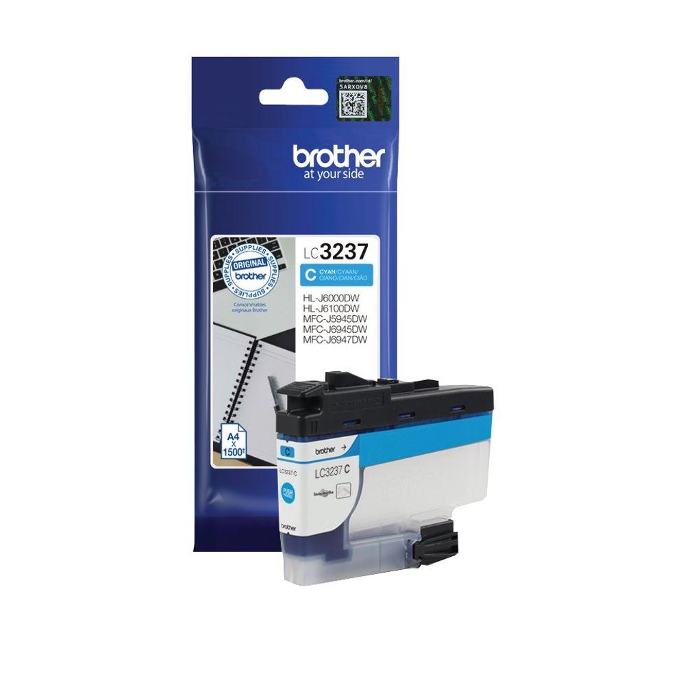 Brother LC-3237 Cyan Ink Cartridge - LC3237BK