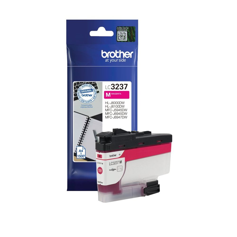 Brother LC-3237 Magenta Ink Cartridge - LC3237M