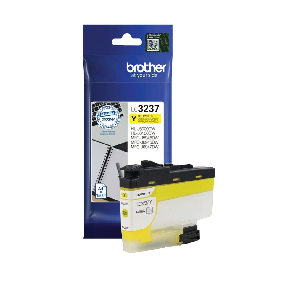 Brother LC-3237 Yellow Ink Cartridge - LC3237Y