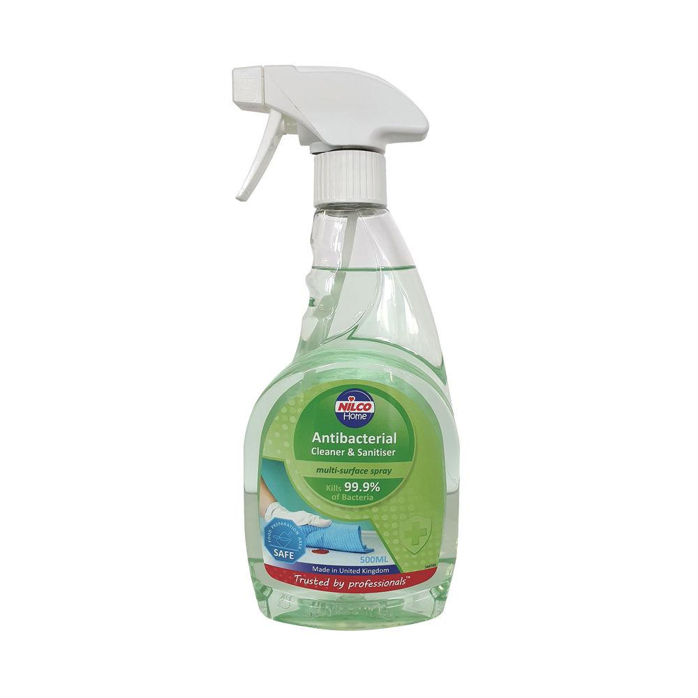 Nilco Antibacterial Cleaner and Sanitiser 500ml NAB500_RI