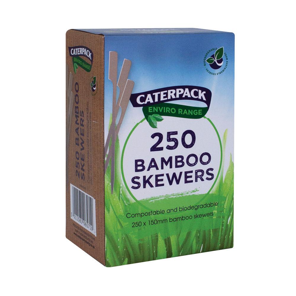 Caterpack ENVIRO Bamboo Skewers 150mm (Pack of 250) RY10773
