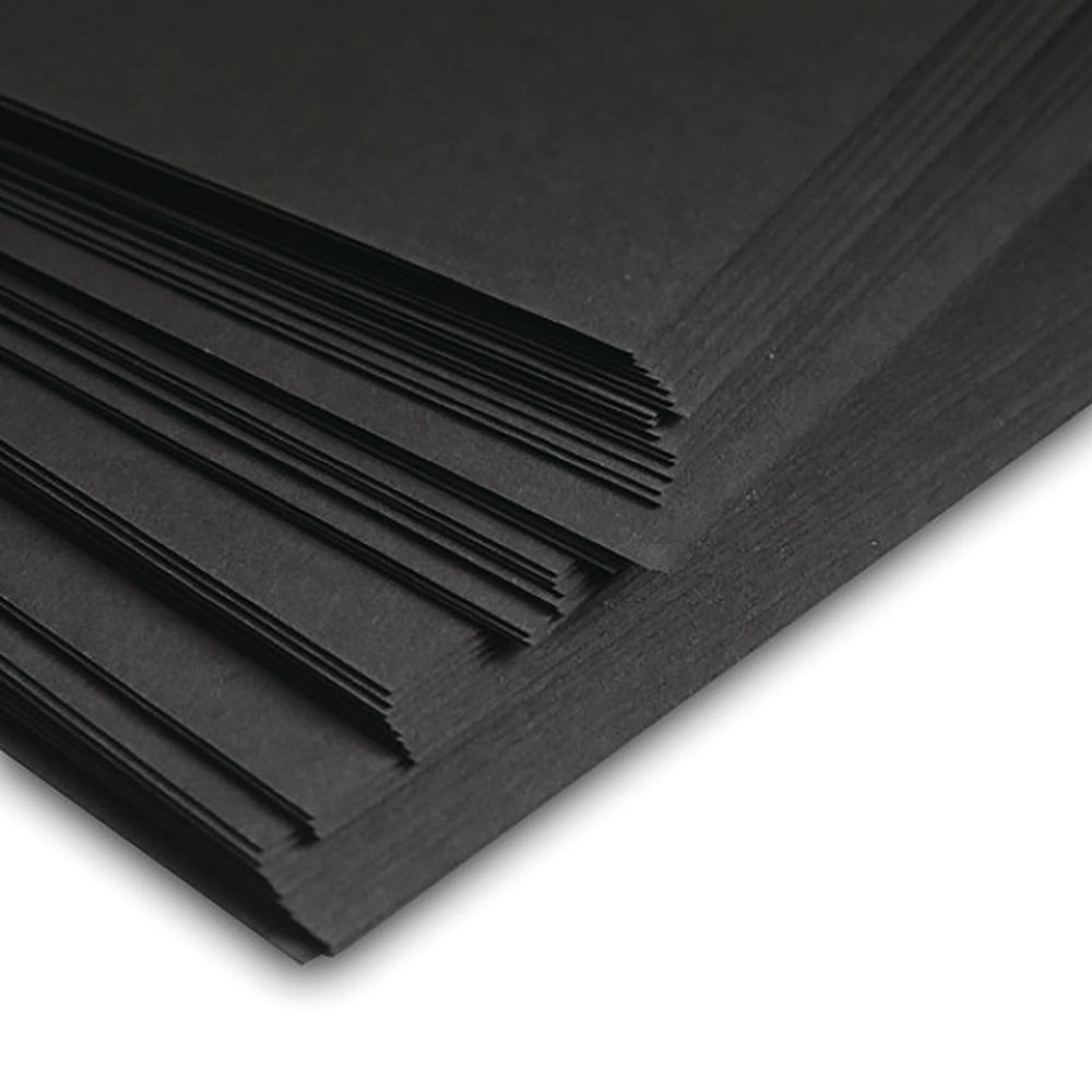 A2 Black Recycled Card 270gsm (Pack of 100) STA2270