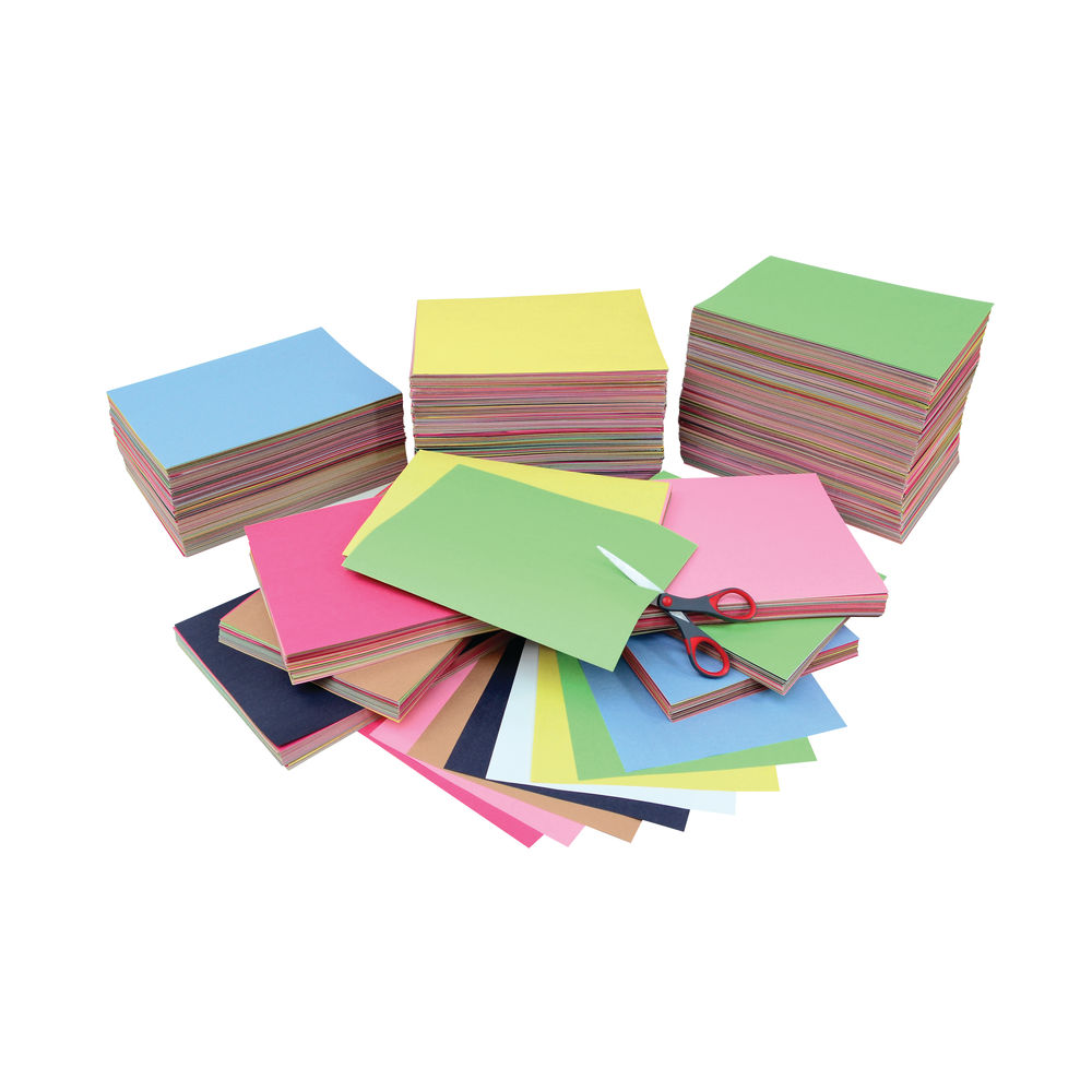 Remnant Construction Paper Pack Assorted (Pack of 3000) P1000081-1067