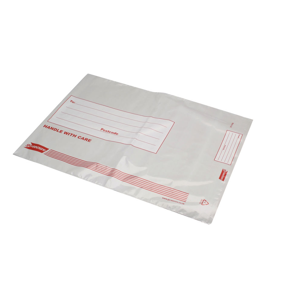 Go Secure Extra Strong Polythene Envelopes, Pack of 100 - PB29100