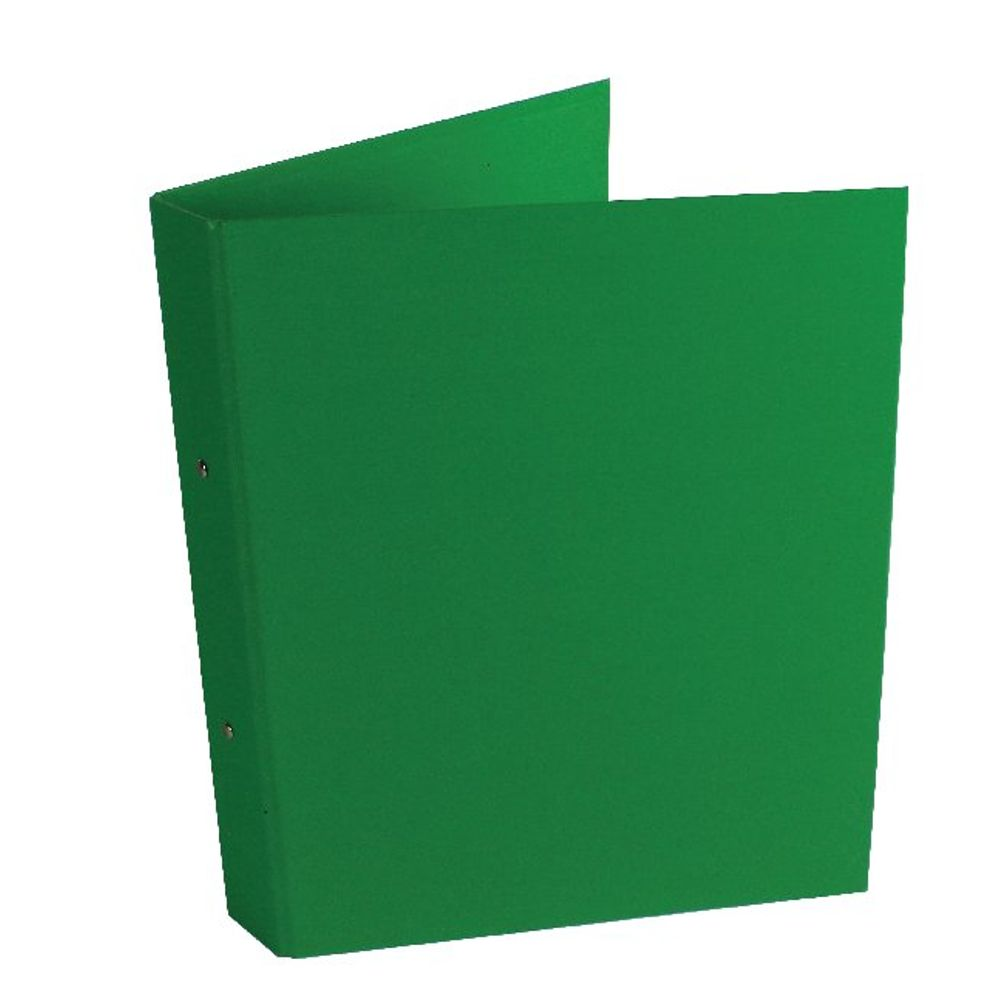 Green A4 25mm 2-Ring Binders, Pack of 10 - WX02008
