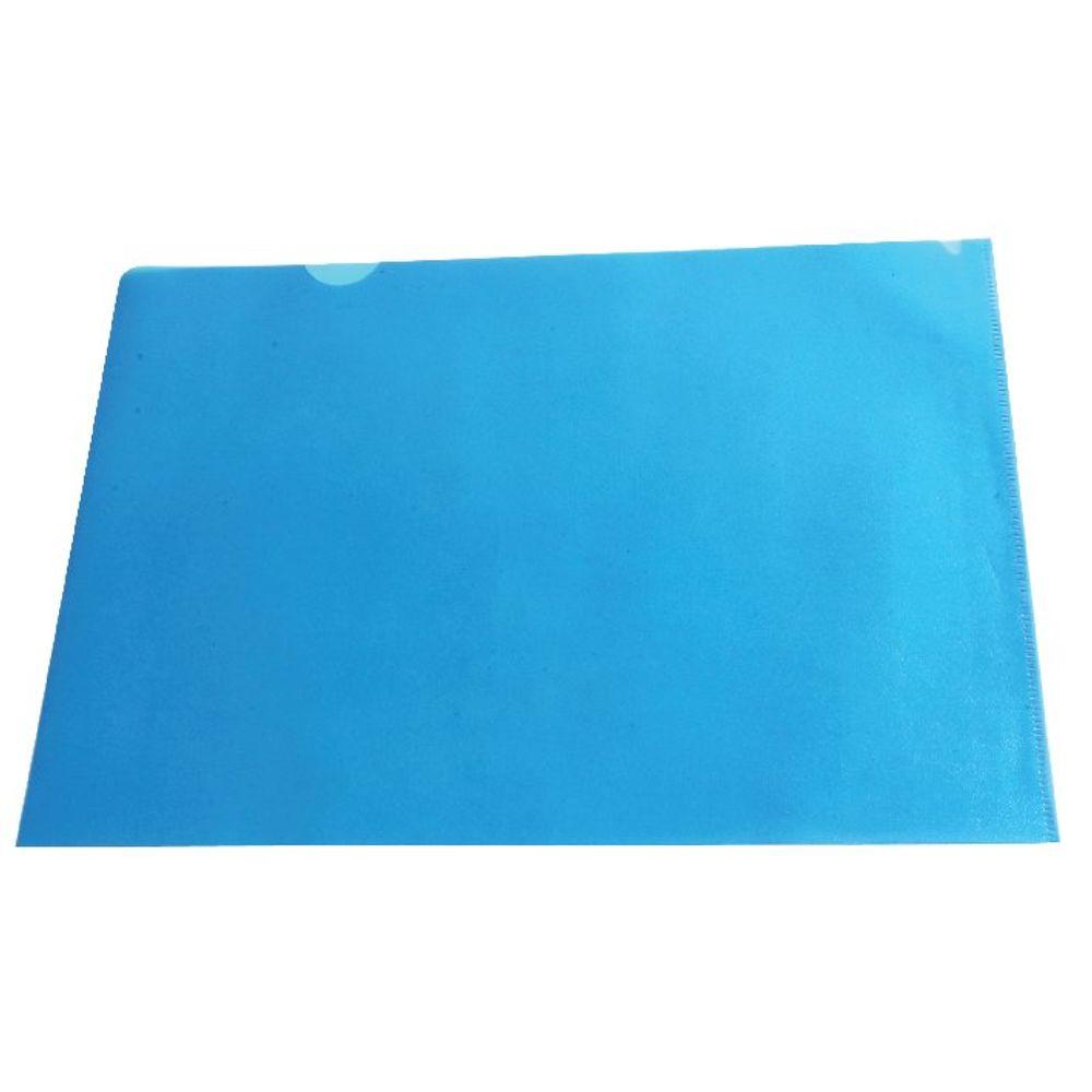 Blue A4 Cut Flush Folders, Pack of 100 - WX01486