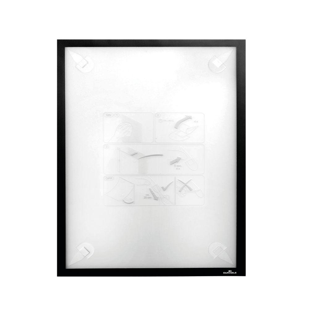 Durable Duraframe Wallpaper A3 Black 4844