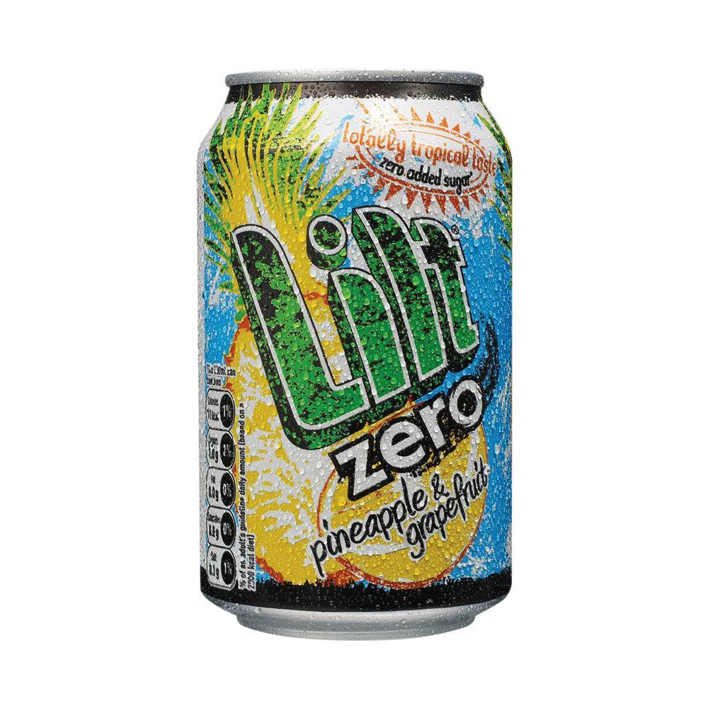 Lilt Zero Soft Drink 330ml (Pack of 24) FOLIL002