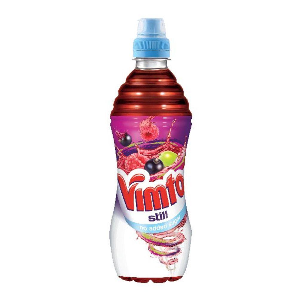 Vimto 500ml No Added Sugar Still Sportscap Bottles (Pack of 12) - 1176