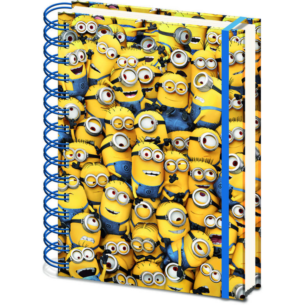 Despicable Me Many Minions 3D Cover A5 Notebook - SR71862
