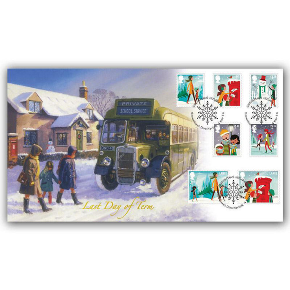 Christmas 2014 Stamps First Day Cover - BC514