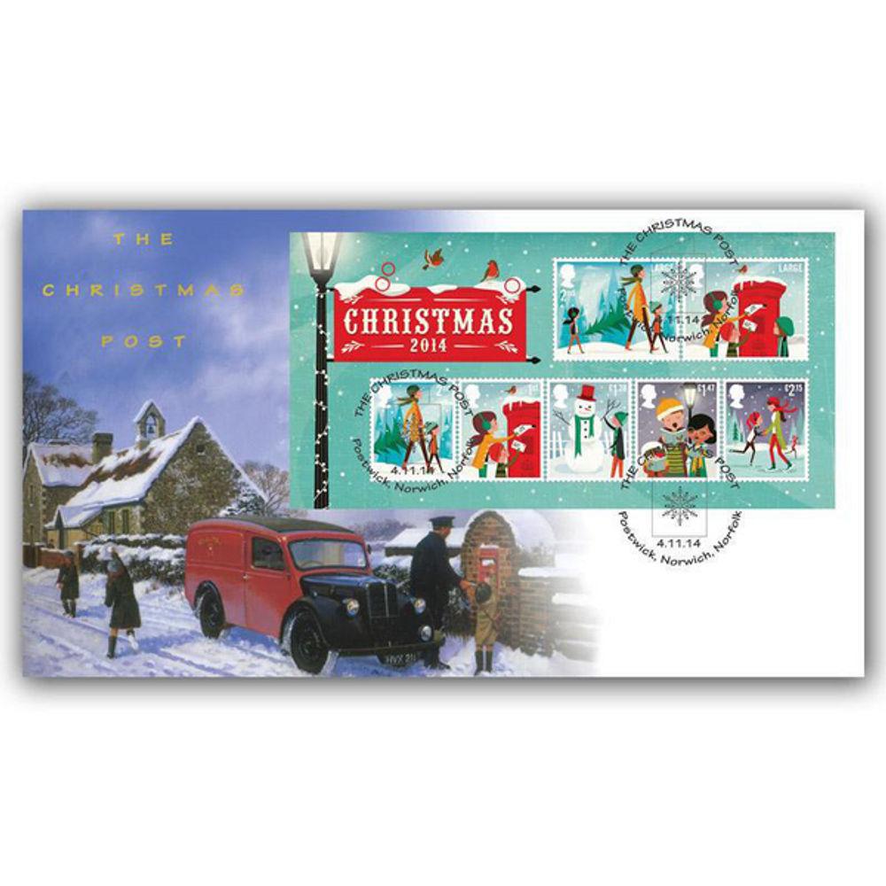 Christmas 2014 Miniature Sheet - BC514M
