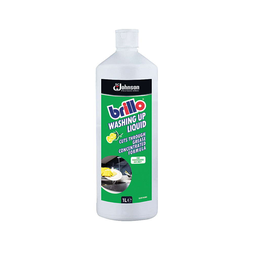 Brillo 1 Litre Concentrated Washing Up Liquid - BWU1LTR